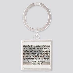 John 14:26 Keychains