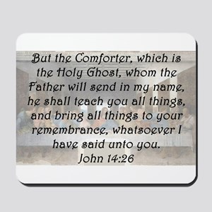 John 14:26 Mousepad