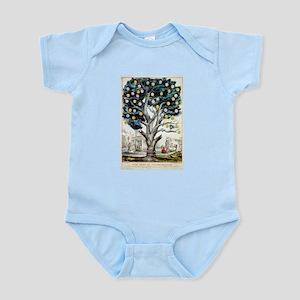 The tree of intemperance - 1849 Infant Bodysuit