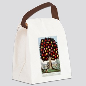 The tree of temperance - 1872 Canvas Lunch Bag
