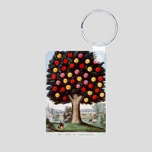 The tree of temperance - 1872 Aluminum Photo Keych