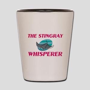 The Stingray Whisperer Shot Glass