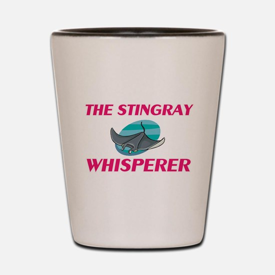 The Stingray Whisperer Shot Glass