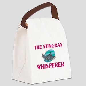 The Stingray Whisperer Canvas Lunch Bag