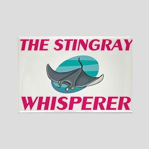 The Stingray Whisperer Magnets