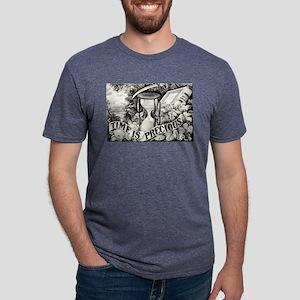 Time is precious - 1872 Mens Tri-blend T-Shirt