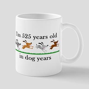 75 dog years birthday 2 Mug