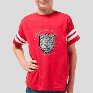 WarriorOfLight_Badge3_BW Youth Football Shirt