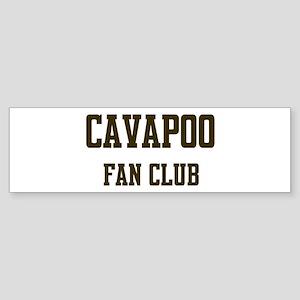 Cavapoo Fan Club Bumper Sticker