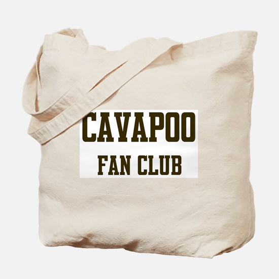Cavapoo Fan Club Tote Bag