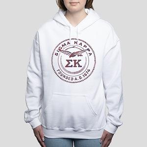 Sigma Kappa Circle Women's Hooded Sweatshirt