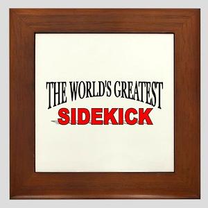 """""""The World's Greatest Sidekick"""" Framed Tile"""