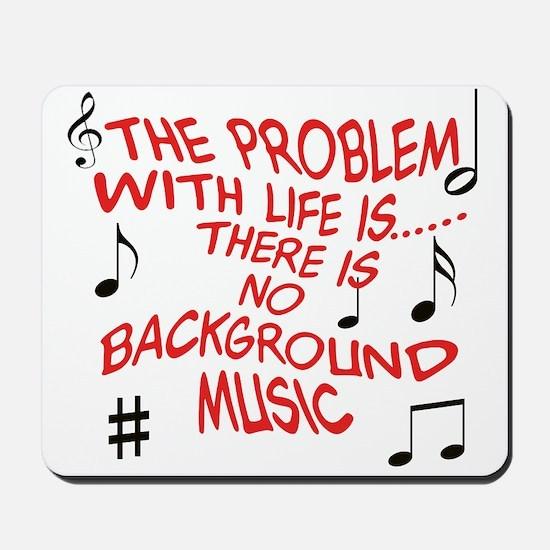 Background Music Mousepad