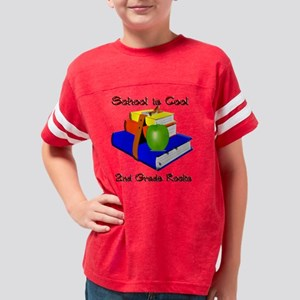 Books apple 2nd 3.5 Youth Football Shirt