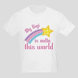 Gigi is Outta This World Kids Light T-Shirt