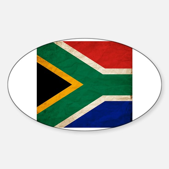 Funny South africa vacation Sticker (Oval)