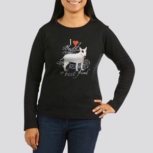 Bull Terrier Women's Long Sleeve Dark T-Shirt