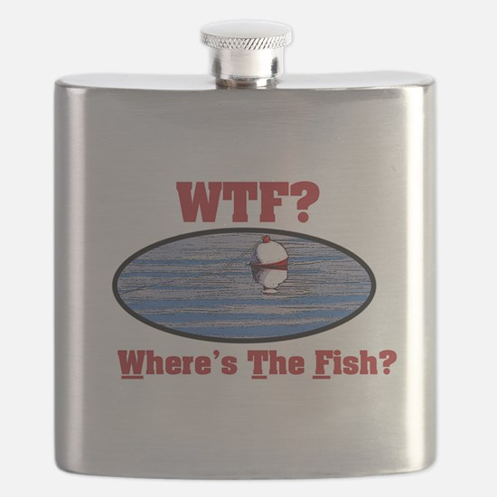 WTF? Where's the Fish? Flask