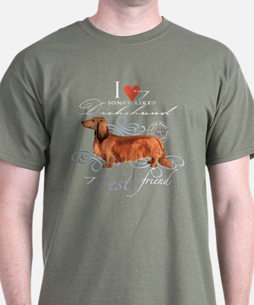Longhaired Dachshund T-Shirt