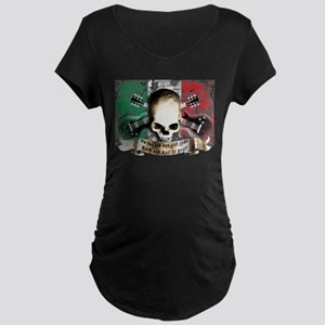 skull and flag italy rock and roll e-guitars Mater