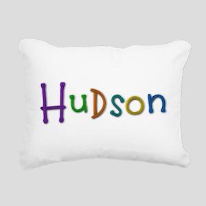 Hudson Play Clay Rectangular Canvas Pillow
