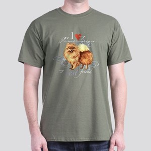 Pomeranian Dark T-Shirt