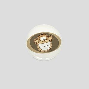 Cheese Grin Monkey Mini Button