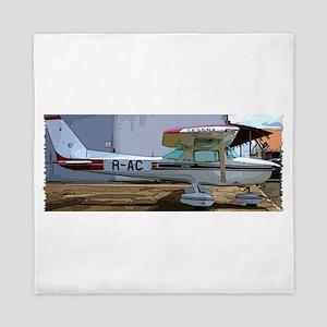 Cessna 150 Queen Duvet