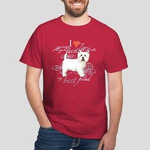 Westie Dark T-Shirt