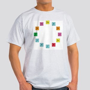 Periodic Table Clock Light T-Shirt