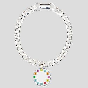 Periodic Table Clock Charm Bracelet, One Charm
