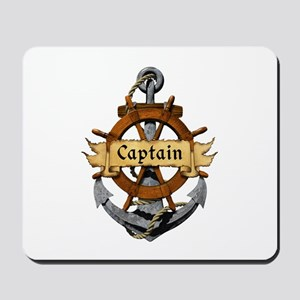 Captain and Anchor Mousepad