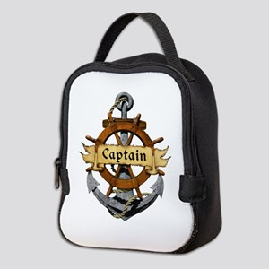 Captain and Anchor Neoprene Lunch Bag