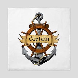 Captain and Anchor Queen Duvet