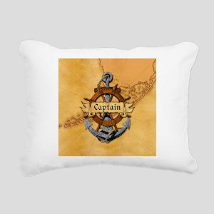 Key West Captain Rectangular Canvas Pillow