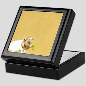Watercolor Guinea Pig II Keepsake Box
