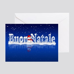 Words stationery cafepress buon natale italian greeting cards pk of 10 m4hsunfo