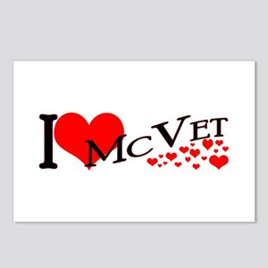 I <3 McVet Postcards (Package of 8)