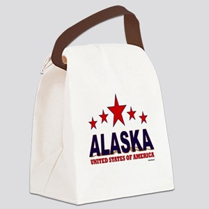 Alaska U.S.A. Canvas Lunch Bag