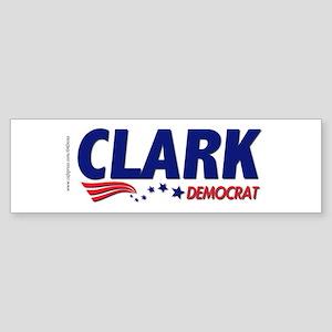 """Clark Democrat"" Bumper Sticker"