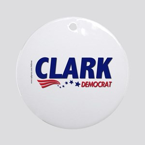 """Clark Democrat"" Ornament (Round)"
