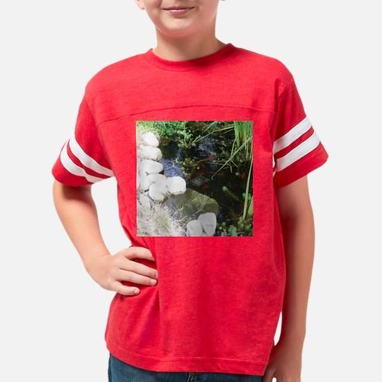 Pond turtle Fish 8-5x8-5 Youth Football Shirt