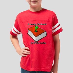 Book Worm 3rd 3.5 Youth Football Shirt