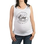 Celtic Victory Chariot Coin Maternity Tank Top
