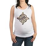 Celtic Rock Knot Maternity Tank Top