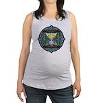 Celtic Sun-Moon Hourglass Maternity Tank Top