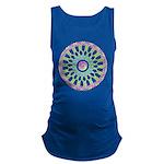 Celtic Springtime Mandala black shirt  Materni
