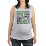 Celtic Knotwork Puzzle Square Maternity Tank Top