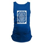 Celtic Knotwork Afire Maternity Tank Top