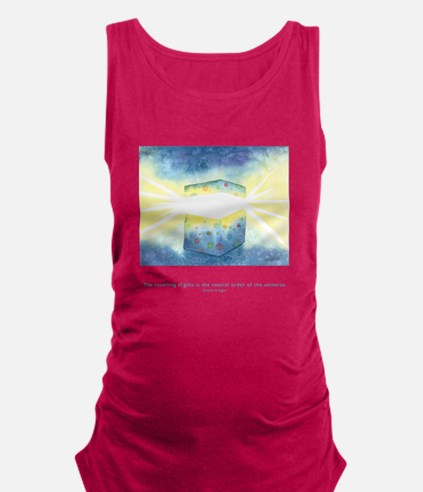 Receiving of Gifts Quote Maternity Tank Top